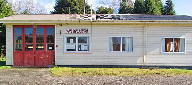 Image of Minginui fire station