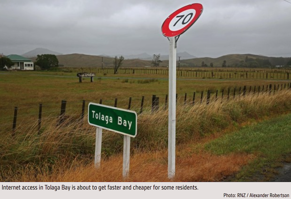 Image of Tolaga Bay sign